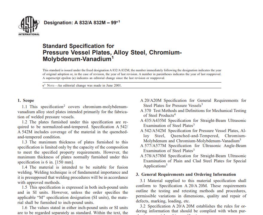 Astm A 832/A 832M – 99 pdf free download