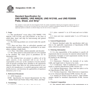Astm B 435 – 03 pdf free download