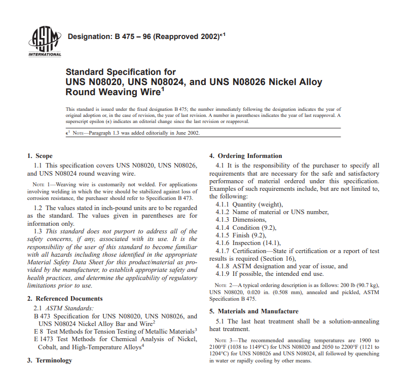 Astm B 475 – 96 (Reapproved 2002) pdf free download