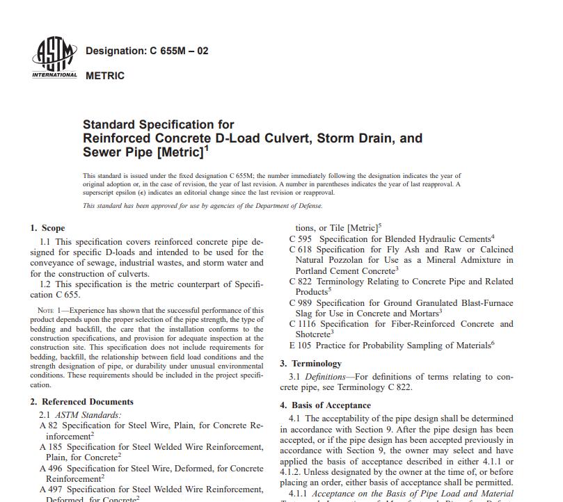 Astm C 655M – 02 pdf free download