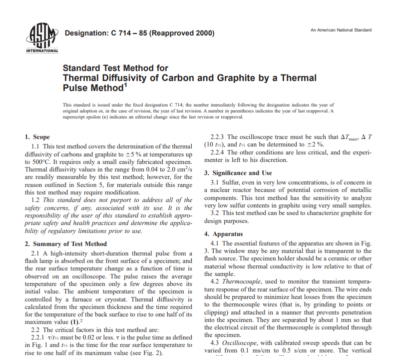 Astm C 714 – 85 (Reapproved 2000) pdf free downloa