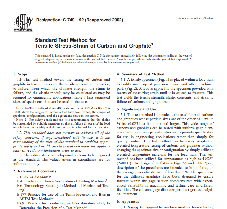 Astm C 749 – 92 (Reapproved 2002) pdf free download