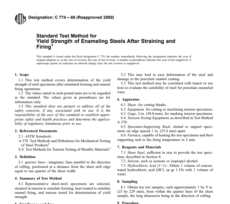 Astm C 774 – 88 (Reapproved 2000) pdf free download