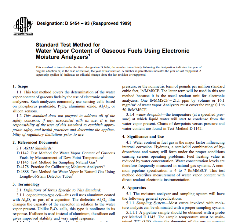 Astm D 5454 – 93 (Reapproved 1999) pdf free download - CIVIL