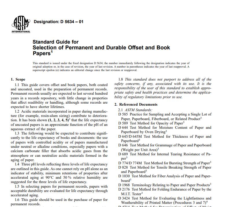 Astm D 5634 – 01 pdf free download