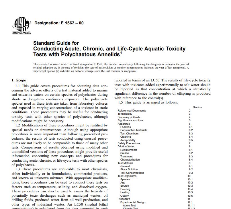 Astm E 1562 – 00 pdf free download