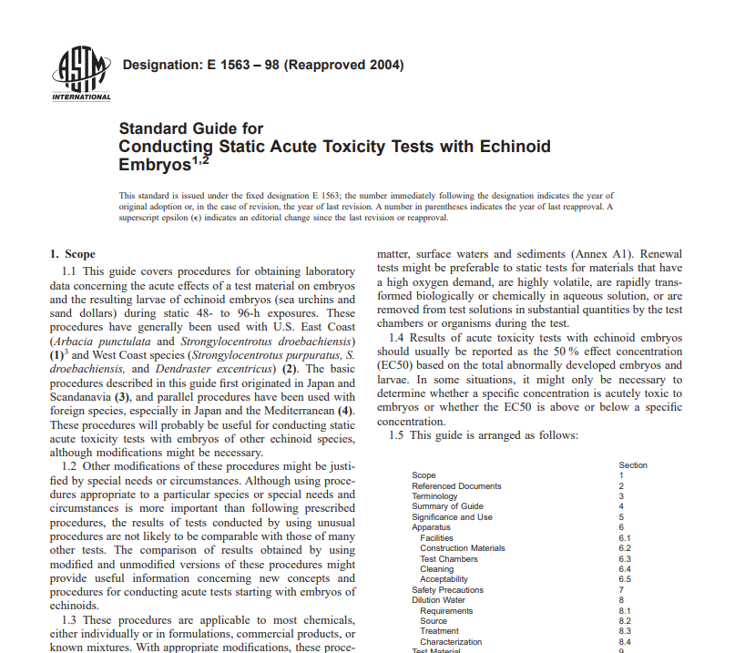 Astm E 1563 – 98 (Reapproved 2004) pdf free download