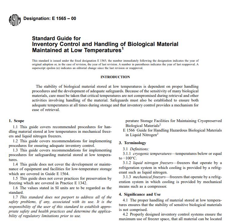 Astm E 1565 – 00 pdf free download