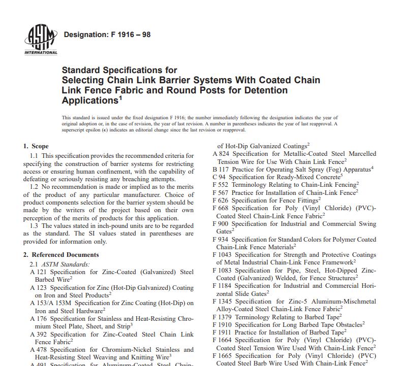 Astm F 1916 – 98 pdf free download