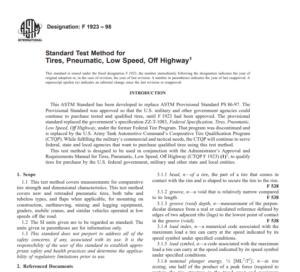 Astm F 1923 – 98 pdf free download