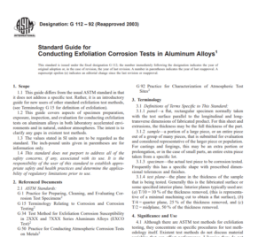 Astm G 112 – 92 (Reapproved 2003) pdf free download