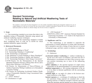 Astm G 113 – 03 pdf free download