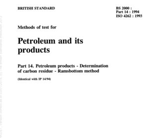 BS 2000-part 14 :1994 ISO 4262:1993 pdf free download