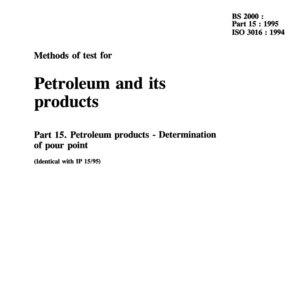 BS 2000-part 15 :1995 ISO 3016:1994 pdf free download