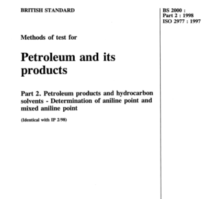BS 2000 :part 2 :1998 ISO 2977:1997 pdf free download
