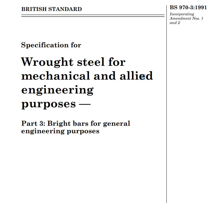 BS 970-3:1991 pdf free download