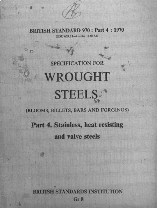 BS 970-4:1970 pdf free download