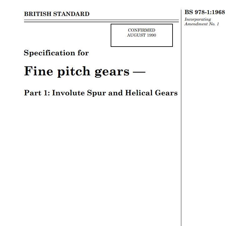 BS 978-1:1968 pdf free download