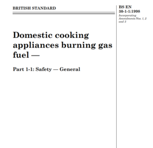 BS EN 30-1-1:1998 pdf free download