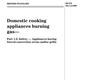 BS EN 30-1-2:1999 pdf free download