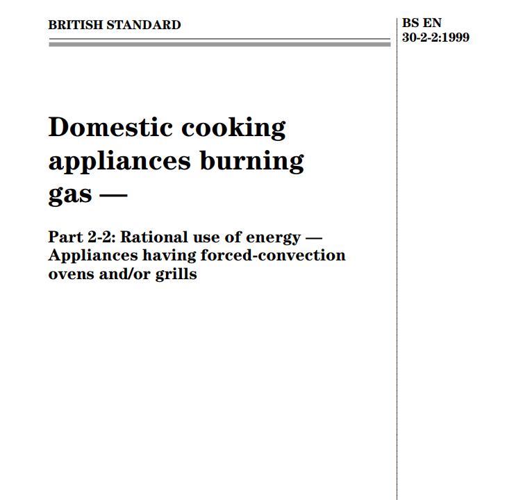 BS EN 30-2-2:1999 pdf free download