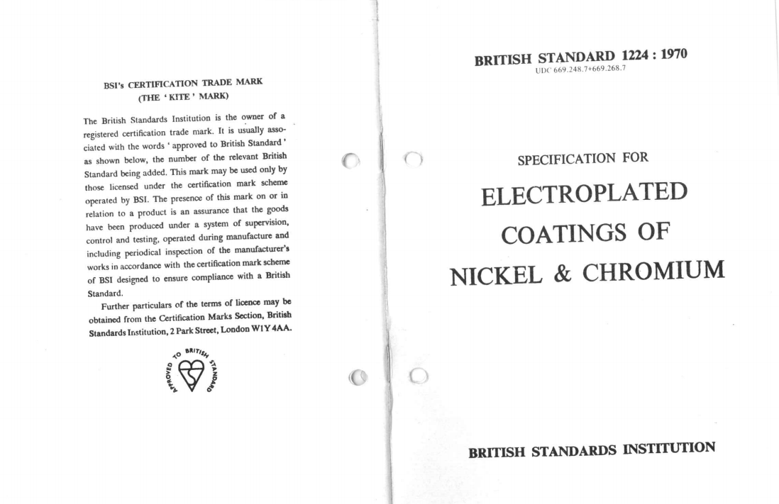 BS1224 :1970 pdf free download